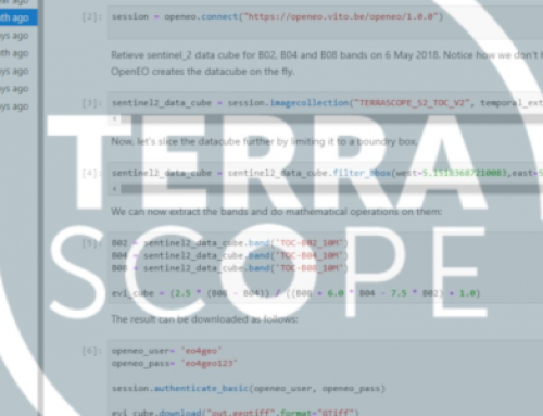 Terrascope Application Development