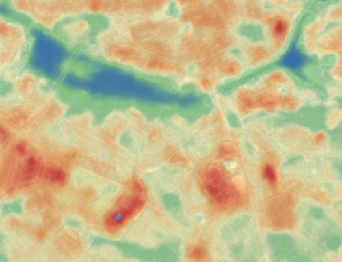 Identification of heat islands to support city planning